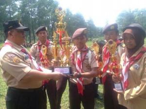 Pramuka Nurul Iman Juara Umum Persebhara 2014