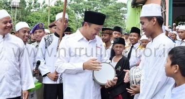 Kunjungan Menpora Bpk. H. Imam Nahrowi Di Pondok Pesantren Al Ashriyyah Nurul Iman