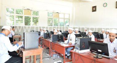 Galeri Ujian Nasional Berbasis Komputer di Nurul Iman