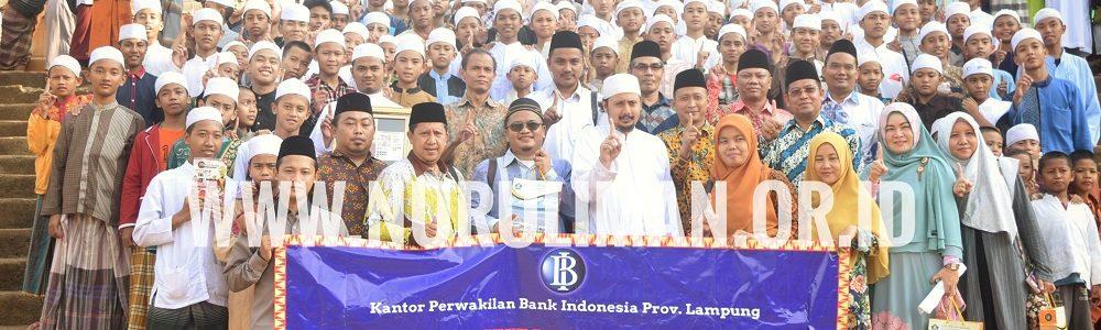 Kunjungan Bank Indonesia Lampung di Al Ashriyyah Nurul Iman Dalam Rangka Study Banding Program Kemandirian Ekonomi Pesantren