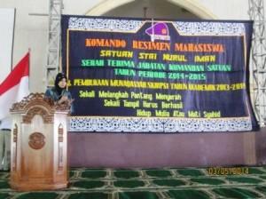 Munaqasyah STAI Nurul Iman 2014