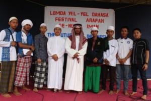 Panitia dan peserta Festival Arafah Yayasan Al-Ashriyyah Nurul Iman Islamic Boarding School, Parung Bogor