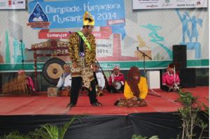 Nurul Iman Pertahankan Juara Satu OVJ OHARA Nasional 2014