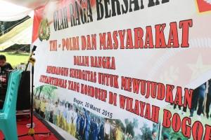 Tim Tae Kwon Do Nurul Iman ikut memeriahkan olah raga bersama antara TNI-Polri dan Masyarakat, Jumat, 20 Maret 2015, Kebun Raya Bogor (KRB) Bogor. Kegiatan ini dalam rangka membangun sinergitas untuk mewujudkan Sitkamtibnas yang kondusif di wilayah Bogor.