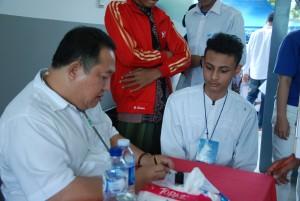 Yayasan Buddha Tzu Chi adakan Baksos di Nurul Iman, Ahad (26/4).