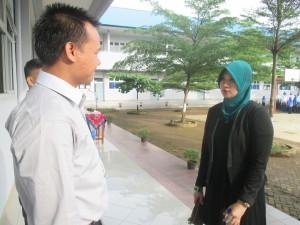 Nurul Iman langsungkan Ujian Nasional tingkat SMP, Senin, 4 Mei 2015. UN ini akan berlangsung dari tanggal  4 sampai 7 Mei 2015.