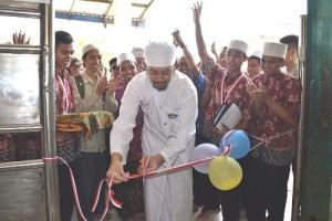 Pembukaan Pameran Batik Oleh Habib Muhammad Waliyullah bin Syekh Habib Saggaf.