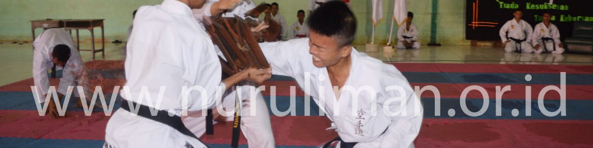 Galeri Ujian Kenaikan Tingkat Karate Nurul Iman