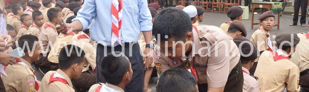 Galeri Upacara pembukaan HUT Pramuka Gugus Depan 11.119-120 Pramuka Al Ashriyyah Nurul Iman Islamic Boarding School Parung Bogor