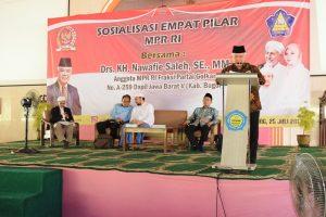 Sosialisasi 4 Pilar MPR RI di STAI Nurul Iman2