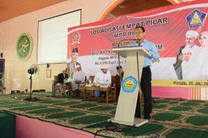 Sosialisasi 4 Pilar MPR RI di STAI Nurul Iman3