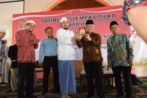 Sosialisasi 4 Pilar MPR RI di STAI Nurul Iman4