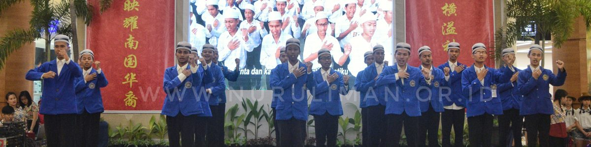 "Puluhan Santri Nurul Iman  Ramaikan Acara Bertajuk ""Coexist with The Earth"""