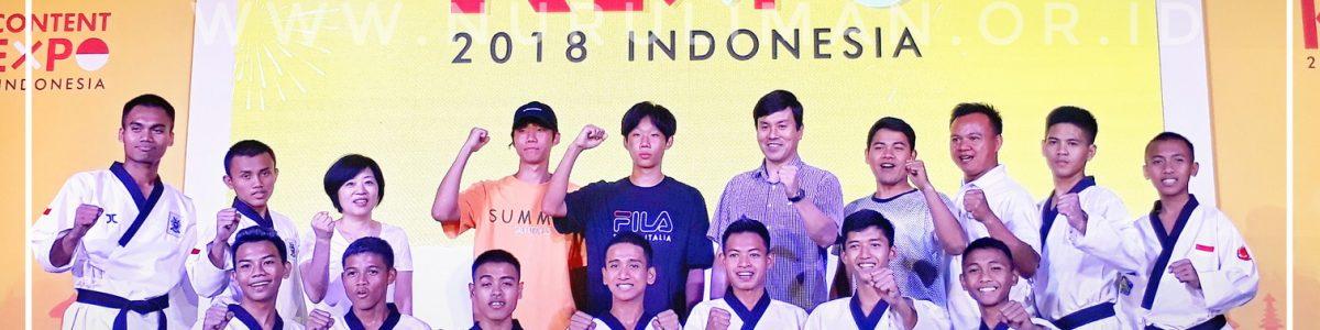 Aktif di Taekwondo, N-Lions Diundang dalam K-Content Expo 2018