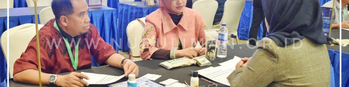 Dukung Industri Syariah, Produk Nurul Iman Dipamerkan dalam Indonesia Halal Lifestyle Expo 2018