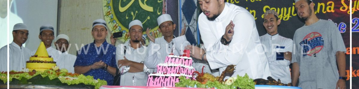 Kemeriahan Malam Puncak Perayaan Milad Habib Muhammad Waliyullah ke-28