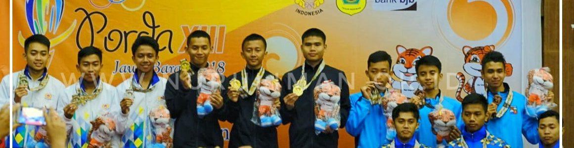 Persembahkan Dua Emas dan Dua Perunggu,  Taekwondoin Nurul Iman Banggakan Daerah