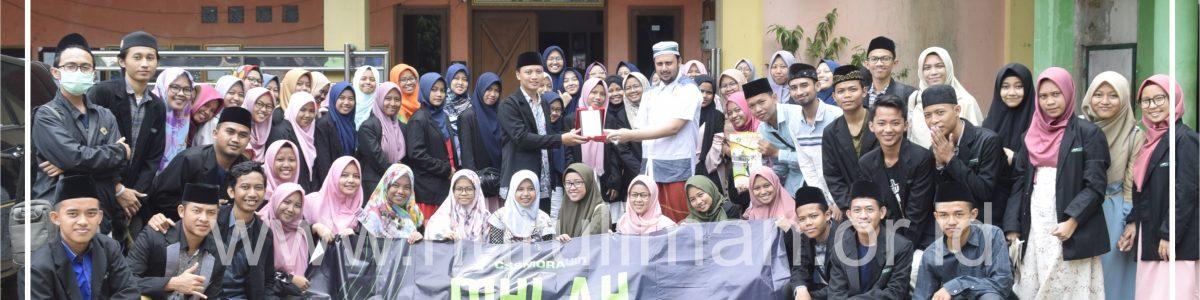 Gelar Rihlah ke Pesantren, CSS MoRA UIN Jakarta Pilih Nurul Iman