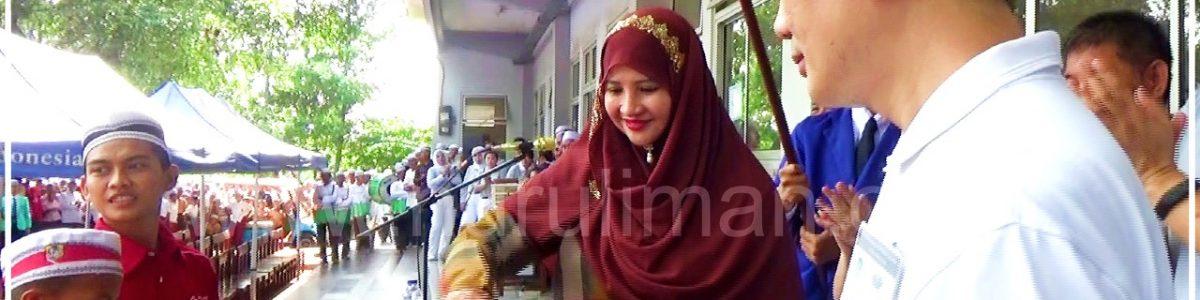 Umi Waheeda berikan tips sehat ala Rasulullah SAW pada acara baksos Buddha Tzu Chi di Nurul Iman