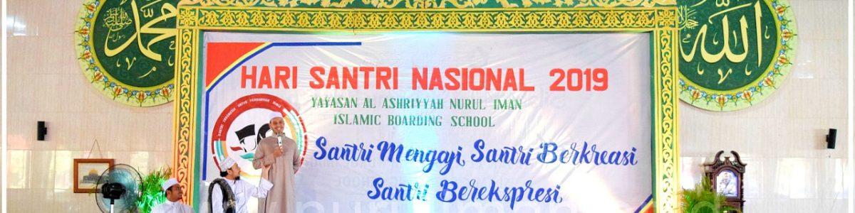 Perayaan Hari Santri Nasional di Nurul Iman